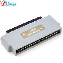 Совершенно новый для FC к адаптер NES 60 Pin к 72 контактный конвертер для nintendo NES консоли системы FC к NES крепление и аксессуары