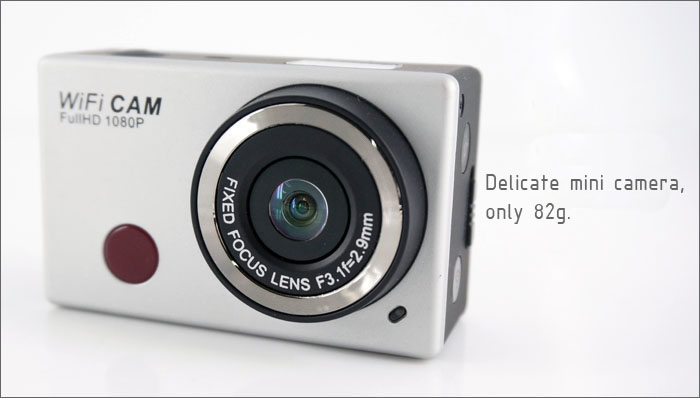 ФОТО Freeshipping WIFI IR Remote Control Digital Camera DV-126+ 1080P 30fps 170D Viewing Angle Camera