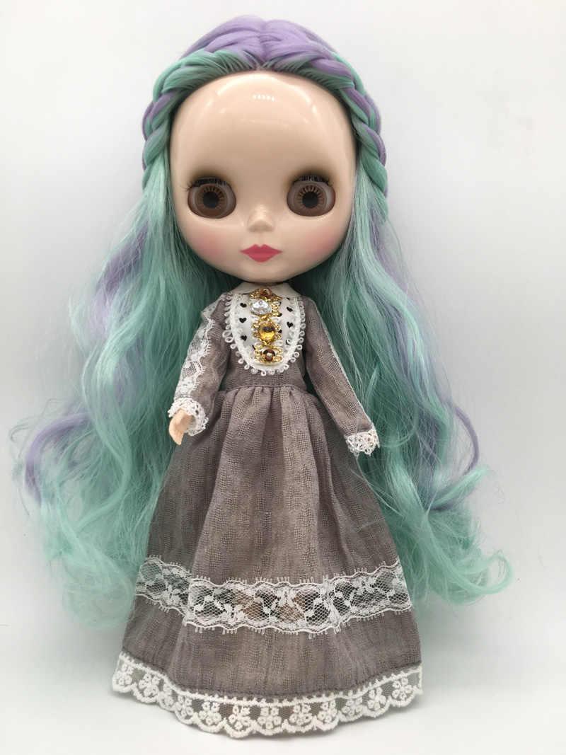พิเศษราคา BJD joint T1-8 DIY Nude Blyth ตุ๊กตาของขวัญวันเกิดสำหรับสาว 4 สีตาใหญ่ตุ๊กตาที่สวยงามน่ารักของเล่น