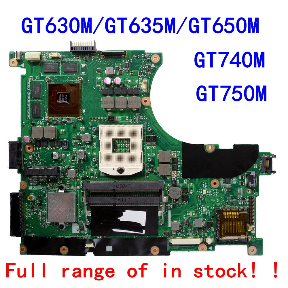For ASUS N56V N56VM N56VJ N56VZ N56VB N56VV laptop Motherboard N56VM REV2.3 Mainboard N56VV Motherboard N56VB N56VJ Motherboard sheli n56vm motherboard for asus n56v n56vm n56vz n56vj laptop motherboard gt650m original tested mainboard n56vz