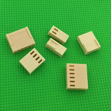50pcs female material KF2510 Connector Leads Header Housing 2 54mm connector KF2510 y Free shipping
