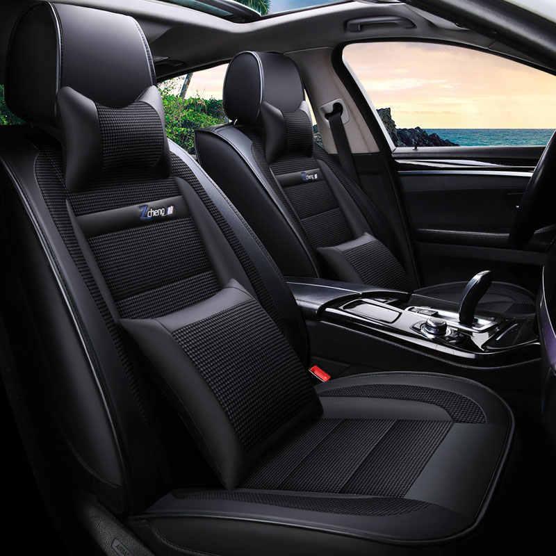 مقعد سيارة يغطي مجموعة حامي العالمي السيارات وسادة وسادة ل أوراق يفينا نيسان جوك ملاحظة باثفايندر باترول y61 مشمس ألتيما d40