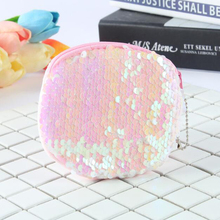 цена на 2019 new girls sequin student purse, coin bag, mini wallet, fruit pattern coin purse, quality assurance