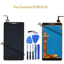 עבור Lenovo Vibe P1M LCD תצוגה + מסך מגע digitizer עצרת החלפת Lenovo P1m P1ma40 P1mc50 LCD מסך תיקון ערכת