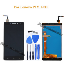 for Lenovo Vibe P1M LCD DIsplay + touch screen digitizer assembly replacement for Lenovo P1m P1ma40 P1mc50 LCD screen repair kit купить недорого в Москве