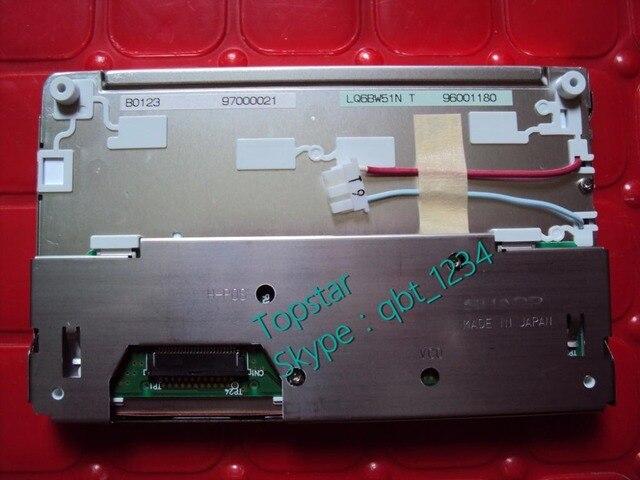 New original display lcd de 5.8 polegada lq6bw51nt lq6bw51n lq6bw50n lq6bw50m para gtr/cefiro nissin de navegação gps de áudio pela sharp