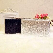 Beste Verkauf Strass Silber/Gold/Schwarze Kupplungen Taschen Frauen Messenger Kette Umhängetaschen Für Hochzeit Abendtaschen
