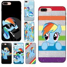 Мягкие случаи TPU Капа красочные My Little Pony Rainbow Dash для Xiaomi Redmi Note 2 3 4 4A 4X5 5A 6 6A 7 Go Plus Pro S2 Y2(China)