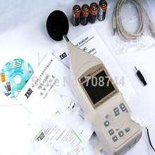 Szybka wysyłka TES-1358C dźwięku analizator w czasie rzeczywistym 1 1 i 1 3 oktawy zespół analizy tanie tanio