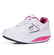2016แฟชั่นรองเท้าผู้หญิงS Limmingเลดี้ฟิตเนสแพลตฟอร์มรองเท้าฤดูร้อนตาข่ายอากาศเวดจ์ที่เพิ่มขึ้นรองเท้าผู้หญิง5c171