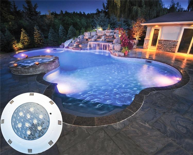 20 Вт 30 Вт 40 Вт 50 Вт свет бассейн IP68 AC12V LED Наружное освещение rgb led подводный Освещение пруд светодиодные умывальница Luz