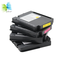 disposable ink cartridge with heat transfer sublimation ink compatible for ricoh GXe 5550n plotters free shipping 500ml bottle sublimation ink for epson 1400 1430 1500w printer heat transfer ink compatible t0791 6 ink cartridge