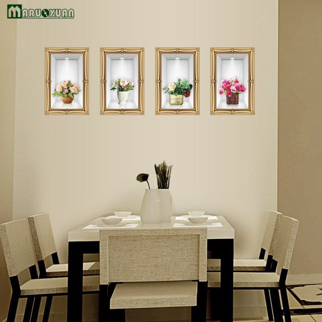 maruoxuan 3d wall stickers living room dining room wall decoration