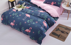 Image 3 - 1PCS Duvet Cover 200*200 Bedding Quilt Blanket Comforter Cover Printing Single Double Queen King Customized 140*200cm flamingo