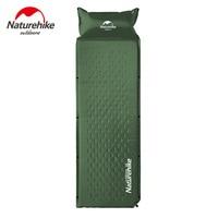 Naturehike Self Inflatable Sleeping Mat Mattress With Pillow Self Inflating Sleeping Pad Foldable Bed Camping Tent Single Mat