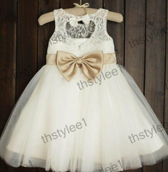 ФОТО Vintage Lace Baby Girl Dresses Vestido Daminha Infantil A-line Knee Length Lace Appliques True Size Baby Girl Baptism Dresses 12