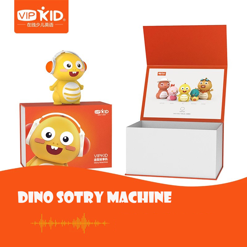 VIPKID Dino Chinese Children English Story Machine Children Learning English Story Classic Fairy\Little Prince