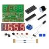 Digital Electronic C51 4 Bits Clock Electronic Production Suite DIY Kits Hot Selling