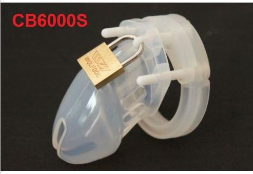 2015 envío gratis CB-6000S Silicona CB6000S castidad masculina dispositivo de castidad cinturón de castidad hombres chastity device