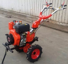 Minitractor Rotary Cultivator Cropper Small Farm Machinery