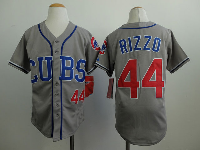 58db060a3 ... Womens Chicago Cubs 34 Jon Lester 2014 Gray Jersey Aliexpress.com Buy  44 Anthony Rizzo .