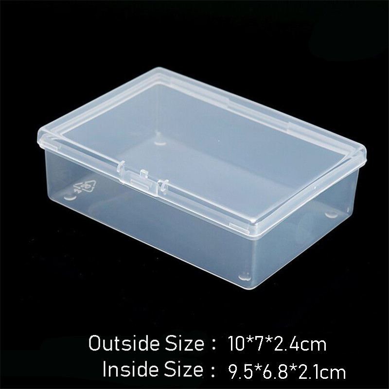 10*7*2.4cm Transparent Plastic Boxes Playing Cards Container PP Storage Case Packing Poker Game Card Box For Board Games