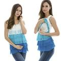 Уход топы шифон блузка беременным грудное вскармливание жилет беременных одежда 2 Clolour