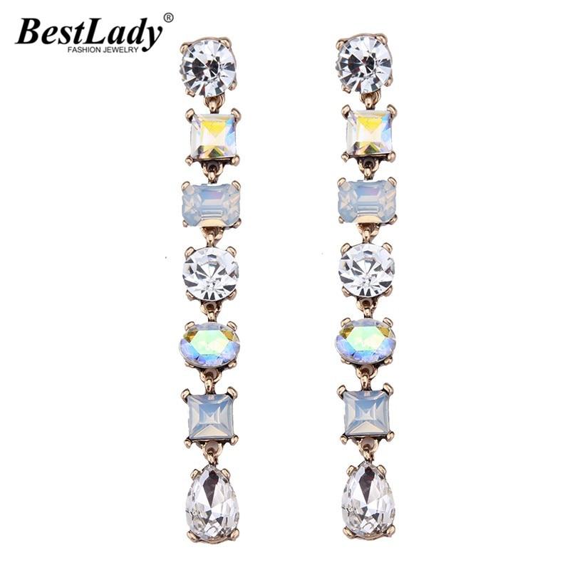 Best lady Luxury Beads Colorful Long Earringss
