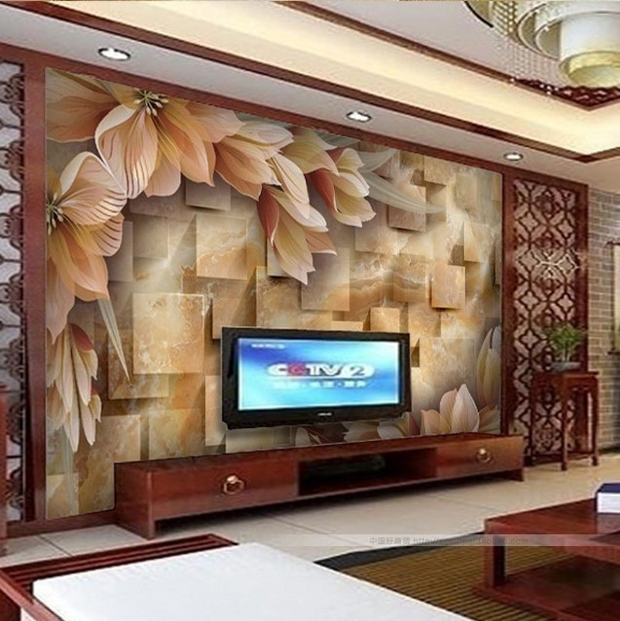 beibehang Custom 3d photo wall paper3d stereoscopic large ...