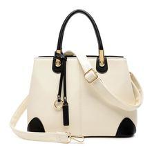 Women winter bag 2016 big handbags Messenger bag good quality famous brand women's shoulder bags high-end ladies leather handbag
