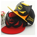 2016 Fashion Summer Baby Cap Snapback Hats Caps Baseball Cap Kids Children Batman Pattern Hats Beanies 3-8 Years