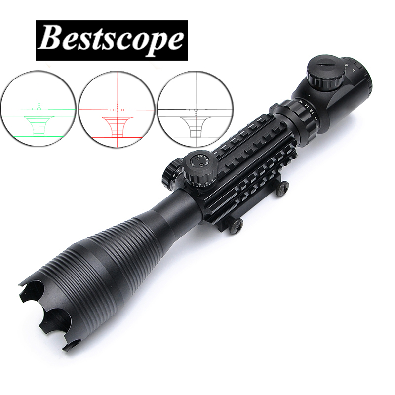 BSA OPTICS Riflescope C 4 16X50EG LLL Night Vision Scopes For Airsoft Gun Outdoor Hunting Telescope