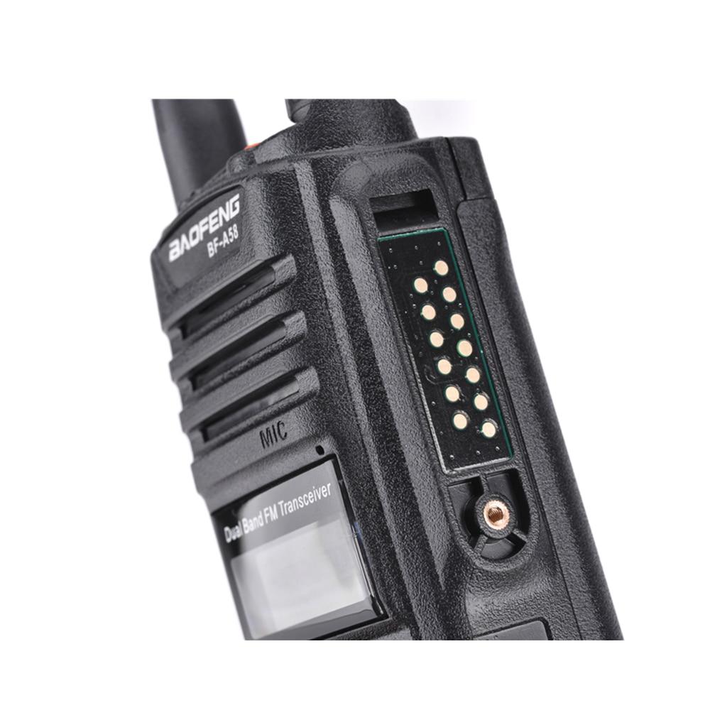 Image 3 - 2pcs Original Baofeng IP67 BF A58 Marine Waterproof Walkie Talkie Dual Band Woki Toki Two Way Radio Amador UV 9R Hf Transceiver-in Walkie Talkie from Cellphones & Telecommunications