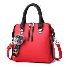 2019 Large Capacity Tassel Handbag Ladies Soft Leather Ladies Messenger Bag Messenger Bag Shoulder Bag Female Handbag Ladies Sho недорого