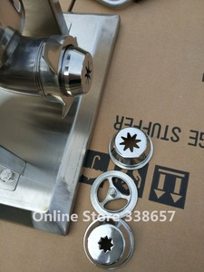 Image 2 - 5L 상업 스페인어 churrera churro 메이커 필러 churros 기계 장비 만들기