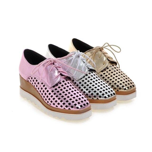 b0fd4179232 Tenis Feminino Promoção Moda Além de Grande Tamanho 34-43 Calçados Femininos  Sandálias 2017 Sapato