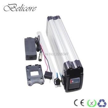 Бесплатная доставка батарея для электровелосипеда 36В 10ач 10.4ач 11.6ач 12Ач 12.8ач 13ач 13.6ач 14ач батарея для электрического велосипеда silverfish для ...