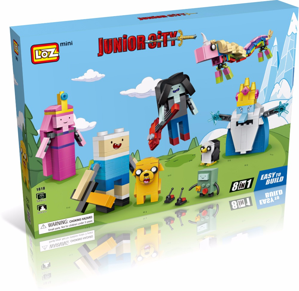 LOZ New Mini Blocks brinquedos Small Building Toys Adventure Time Auction Model Toy Juguetes Cartoon  Toys  Gift for Girls 1818 2015 new gift smae as loz building blocks small animal minion mario transformation minifigures cartoon characters 3d bricks toys