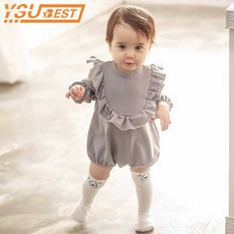 Boy Girl Climbing Clothing Long Sleeve Baby Clothes Bodysuit Outdoors Cotton Bodysuit Baby Children Bodysuit Baby Girl Clothes