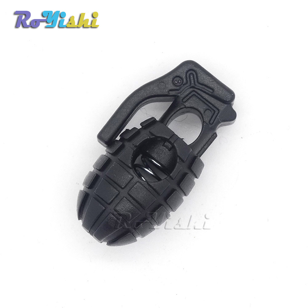 5a4c6b85ed85 10pcs pack EDC Gear Tactical Outdoor Hiking Boots Shoes Grenade Shoelace  Tightening Non-Slip