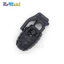 Shoes Grenade Tactical Shoelace-Buckle-Clip Boots Edc-Gear Hiking Outdoor 10pcs/Pack