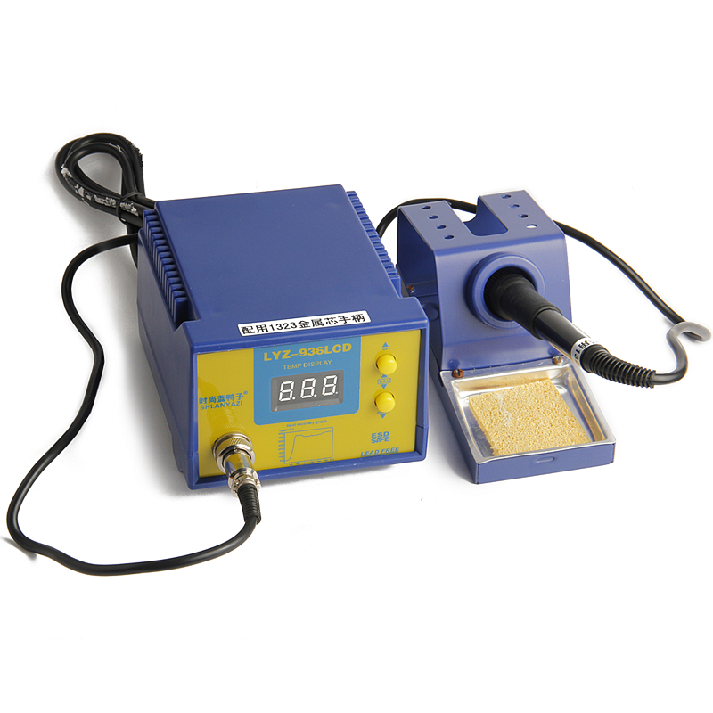 Free Soldering Station Temperature Output Digital Display AC 220V Electric Soldering Iron Welding Machine Tools  цены