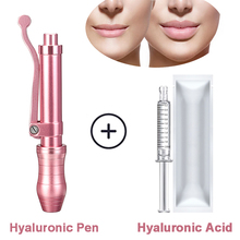 hyaluronic injection pen hyaluronan acid meso injector for lip lifting no needle dermal filler hyaluronpen non