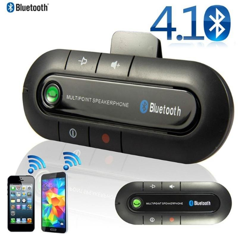 Mini Bluetooth Car Kit Handsfree Music Audio Receiver Adapter Auto Bluetooth For Speaker Headphone Car