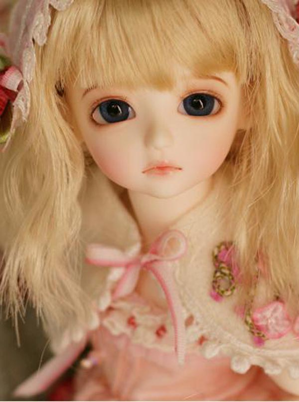 Free Shipping 1/6 BJD Doll BJD/SD Haniie Cute Doll For Baby Girl Birthday Gift With Eyes