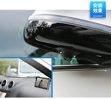 New car right blind area camera R1 waterproof camera and 4.3 inch TFT LCD screen