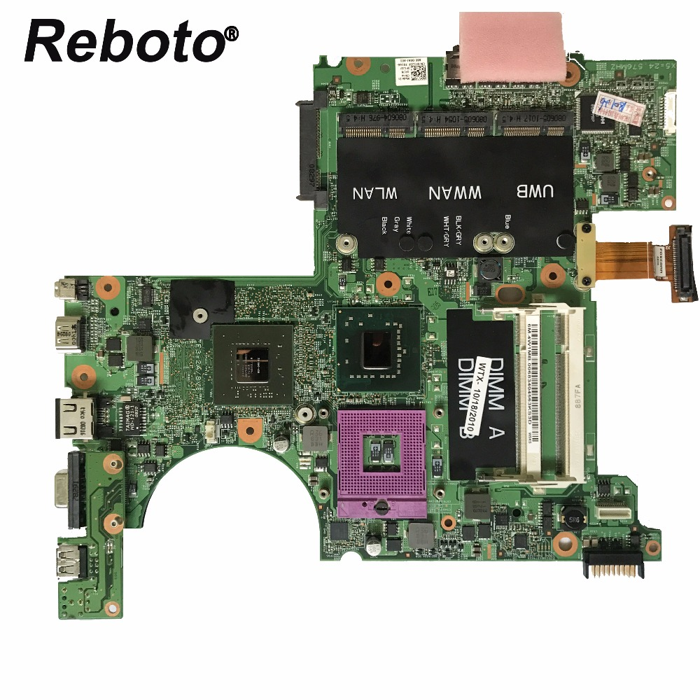 Smart Reboto For Dell Xps M1530 Laptop Motherboard Cn-0f125f 0f125f F125f Pm965 With 8600m 256mb Gpu Ddr2 100% Tested Fast Ship To Assure Years Of Trouble-Free Service Computer & Office Computer Components