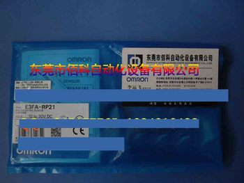 A New   Photoelectric Switch E3FA-RP21