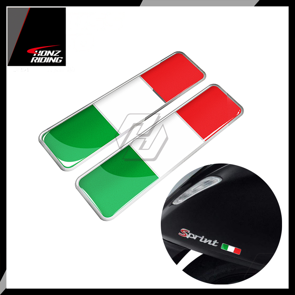 For PIAGGIO VESPA GTS GTV LX Decals 3D Resin Italy Sticker Italia Decal For Motorcycle Car AVT Bike Decals
