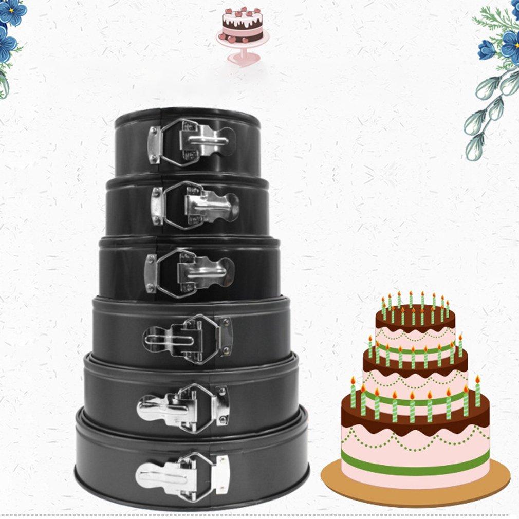 Live Bottom Live Cake Mold Round Round Honeycomb Non-Stick Lock Baking Sheet Baking Mold(China)